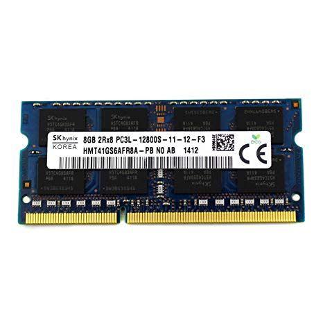 Memorie RAM sodimm 8GB DDR3 PC3-12800S 1600MHz 1.35V / 1.5V PROBA