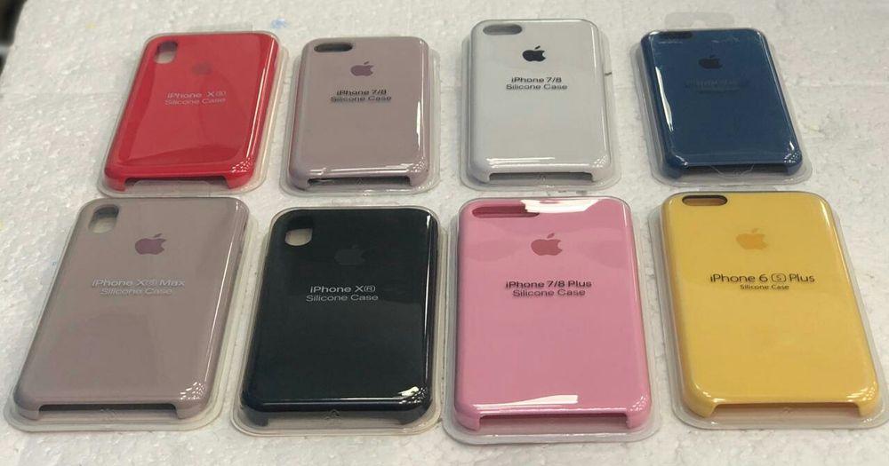 Capas silicone pra todos iPhone, varias cores. Disponível