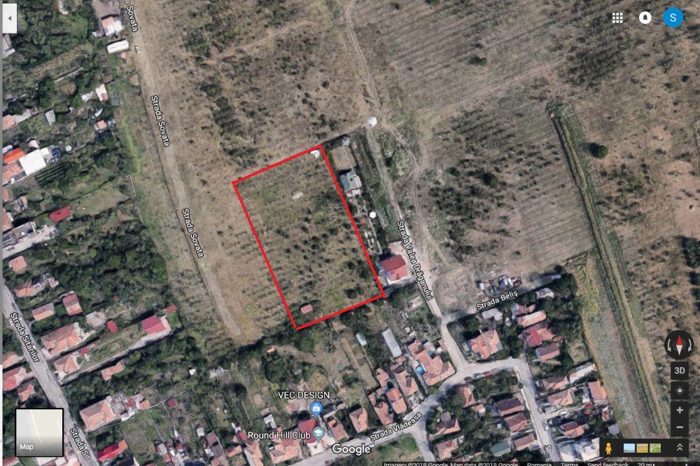 Vand teren intravilan in Cluj-Napoca, Dambul Rotund