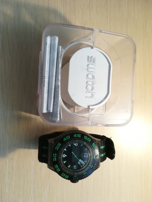 Ceas Swatch Deep Turtle SUUM 400