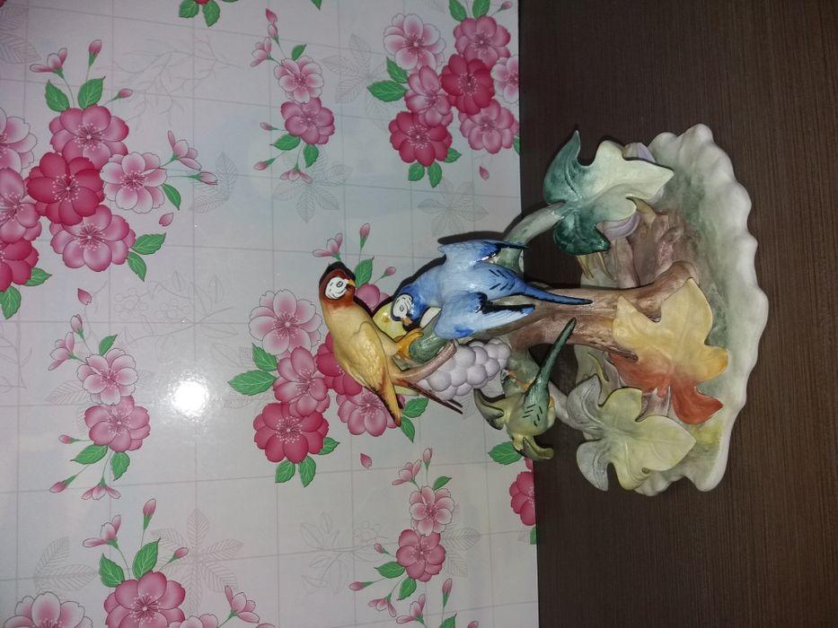 Bibelou pictura manuala papagalii