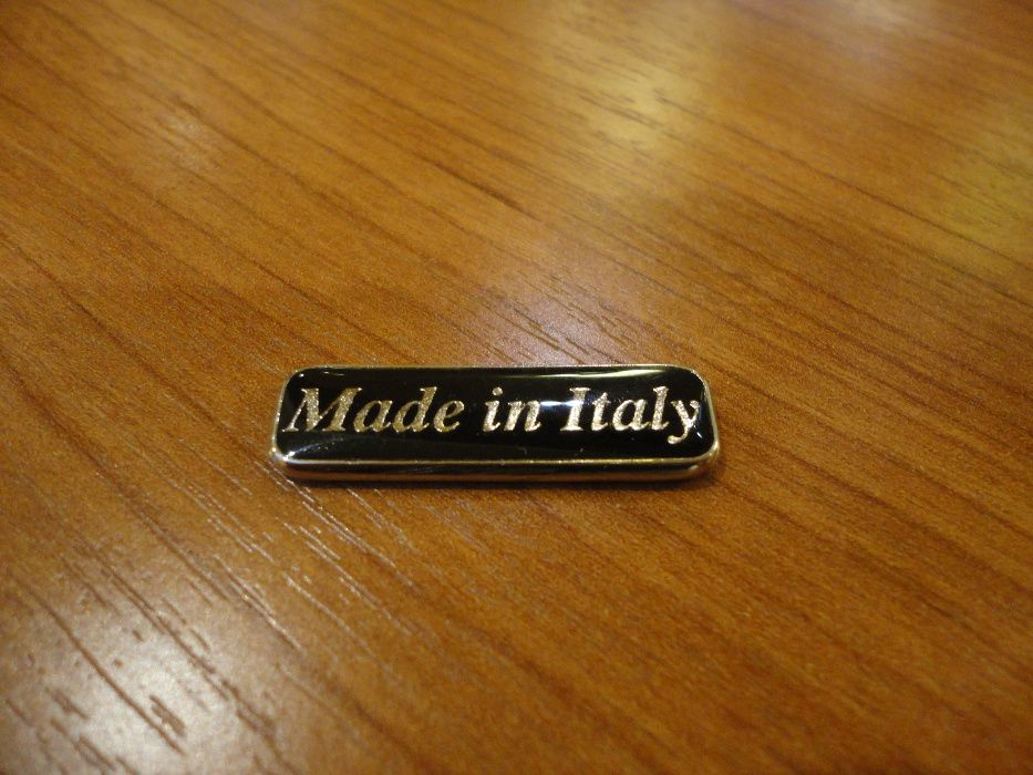 Emblema Acordeon scris Made in Italy