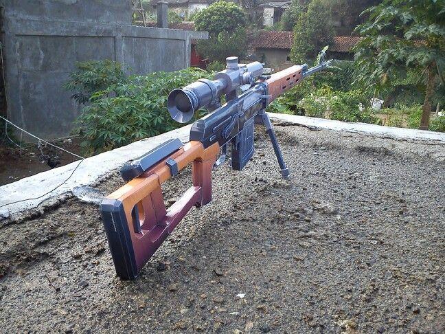 Pusca + Luneta, Bipod Munitie Airsoft(CEA MAI PUTERNICA)6mm FULL METAL