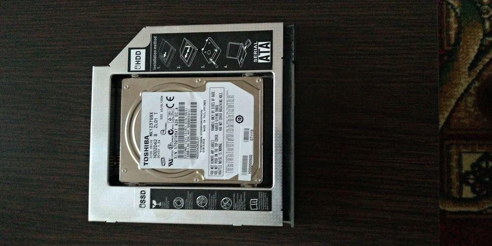 Vand Rack SSD pentru Asus G75VW