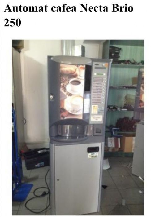 Vand firma cu aparate de cafea Brio 250