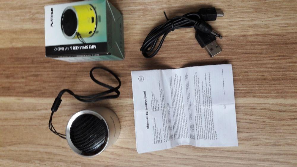 Boxă MP 3 + radio FM