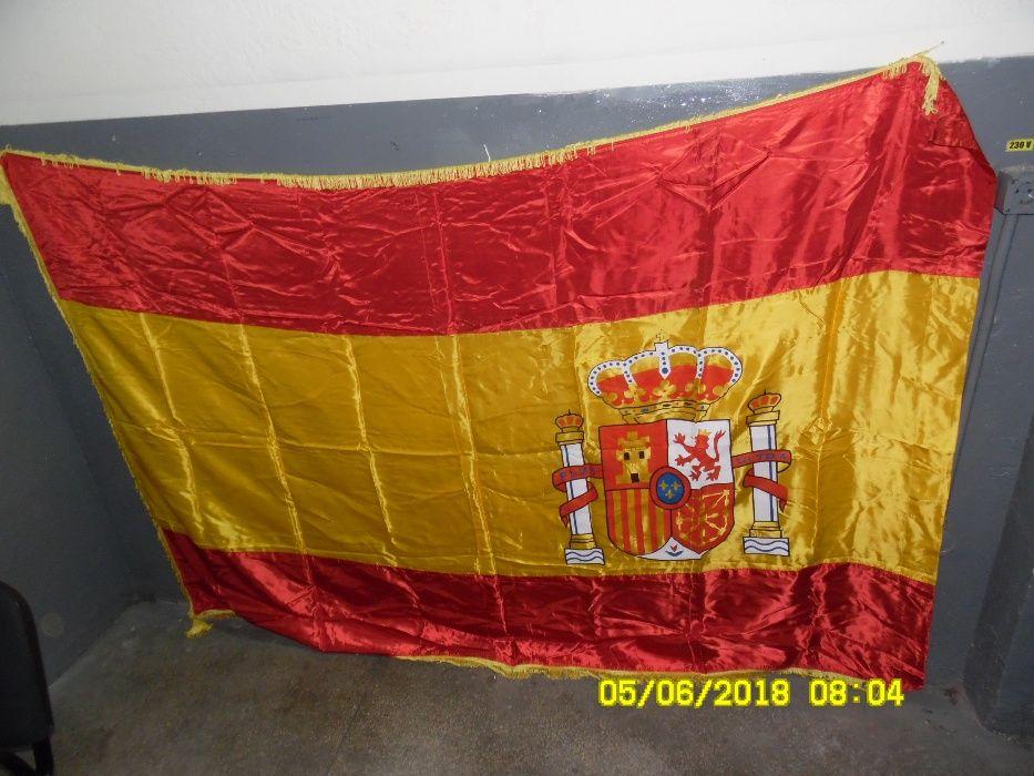Steag / Drapel Spania 210x145 din matase