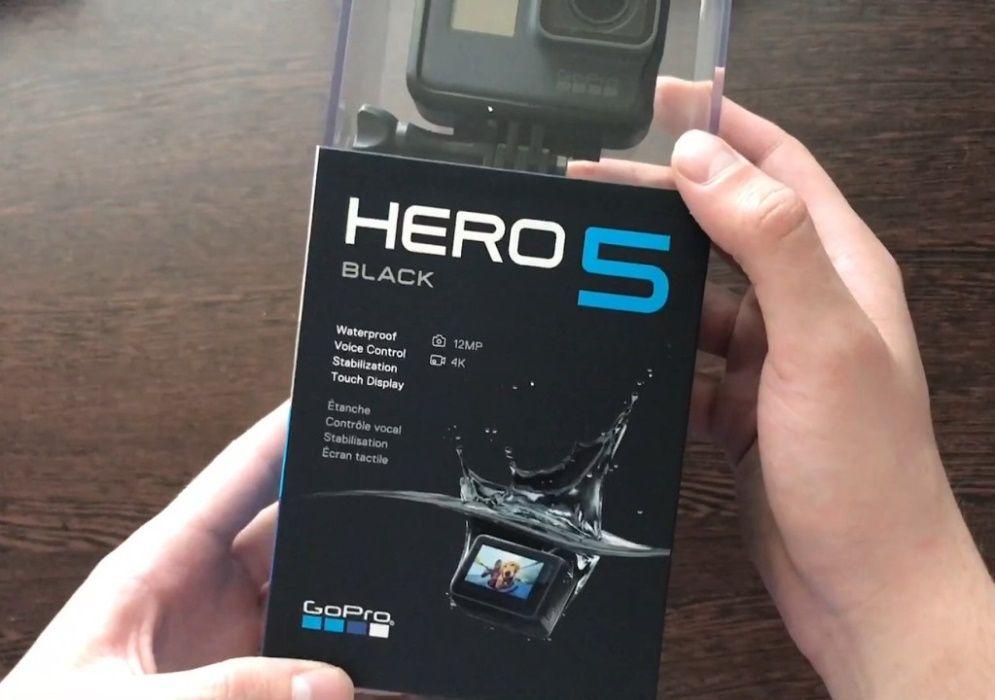 Vand / schimb GoPro Hero 5 Black cu filmare 4K