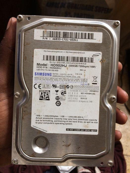 Disco duro 500GB SATA