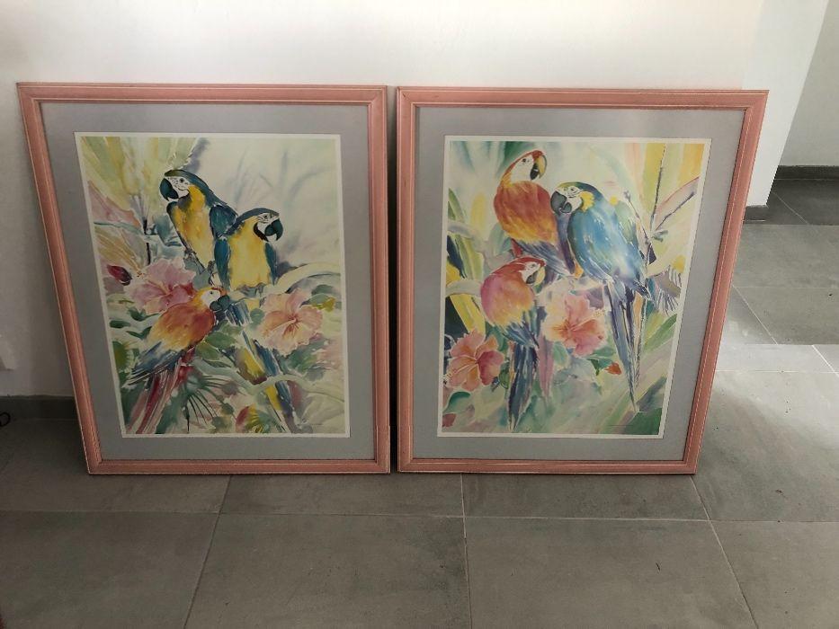 Vendo 2 quadros grandes