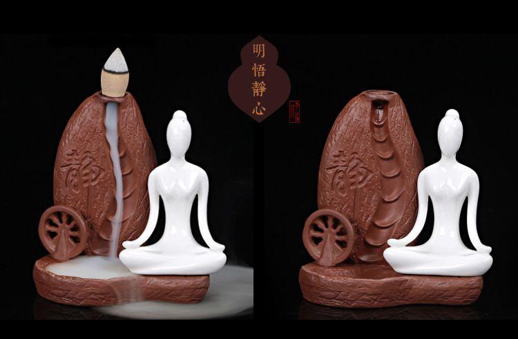 Candela meditatie- iluzia curs de apa.Transportul inclus in pret