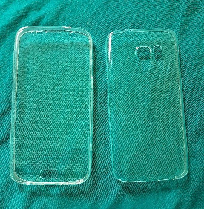 Husa (fata - spate) Samsung Galaxy S7 - silicon - transparenta