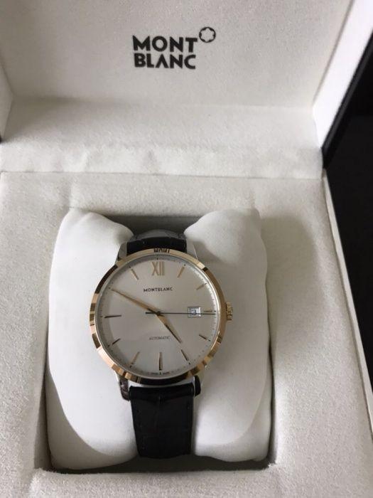 Мъжки часовник Montblanc Meisterstuck Heritage Automatic 18K Gold