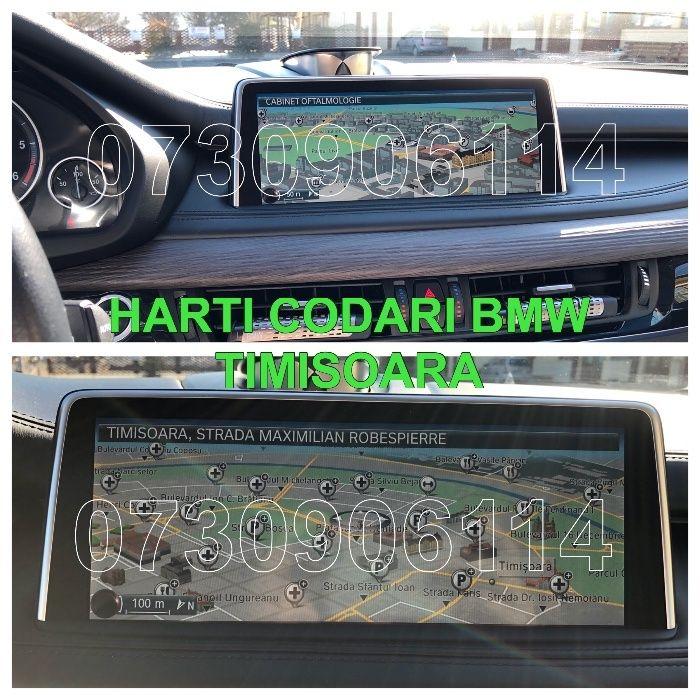 BMW X5 F15 X6 F16 update harti navigatie CIC NBT Europa+ROMANIA 2019