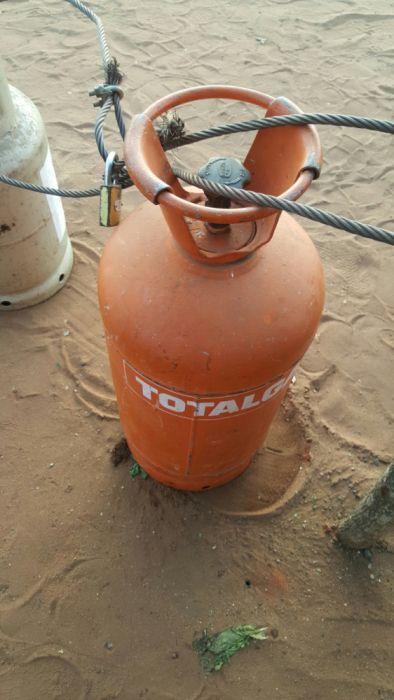 Botija de gás de 14kg a venda, aceito diferença com outras botijas