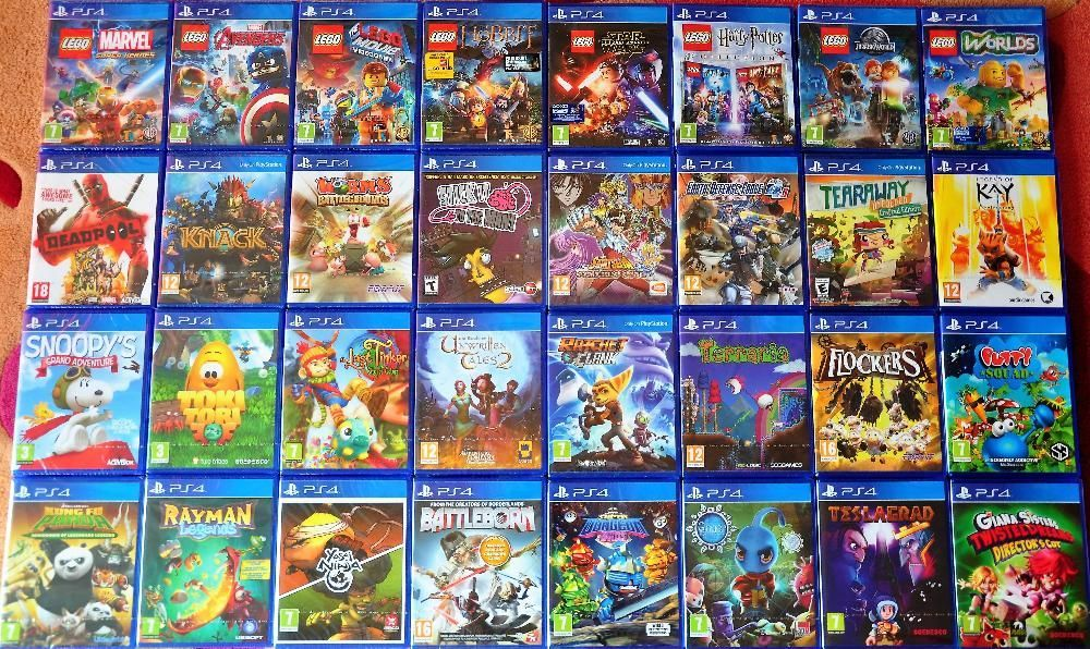 Нови ps3,ps4,lego,Dimensions,Mortal,Rocket,Skylanders,Star,Infinity
