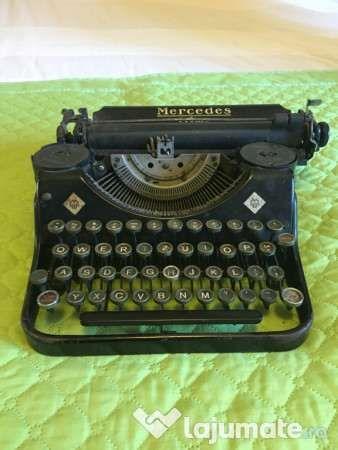 Masina de scris Mercedes variante