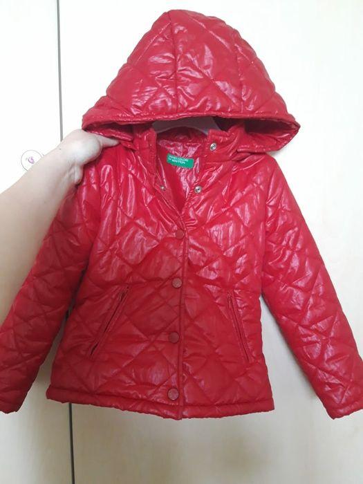 Куртка на девочку 3 года. Benetton