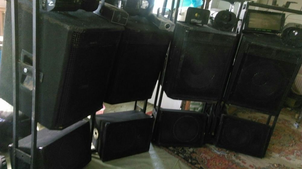Sistem Audio 10000wts + Lumini club
