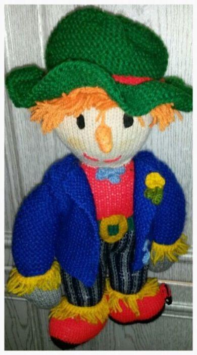 Ръчно изработени плетени кукли