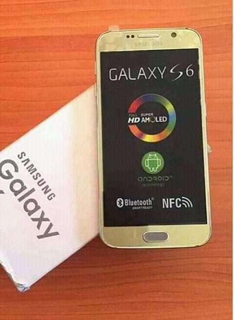 Galaxy S6 Novo Na Caixa