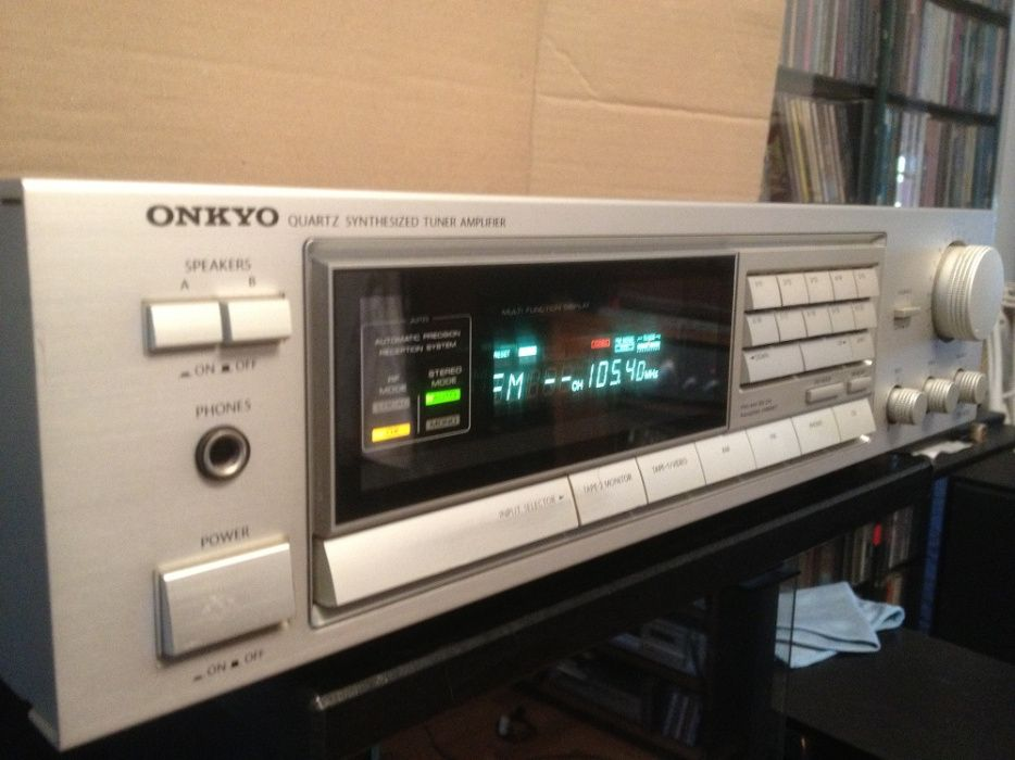 Amplificator & Receiver Stereo ONKYO TX 7600 - Impecabil/Vintage/Japan