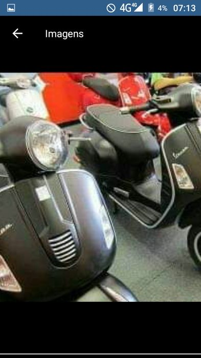 Moto vespa nova a venda