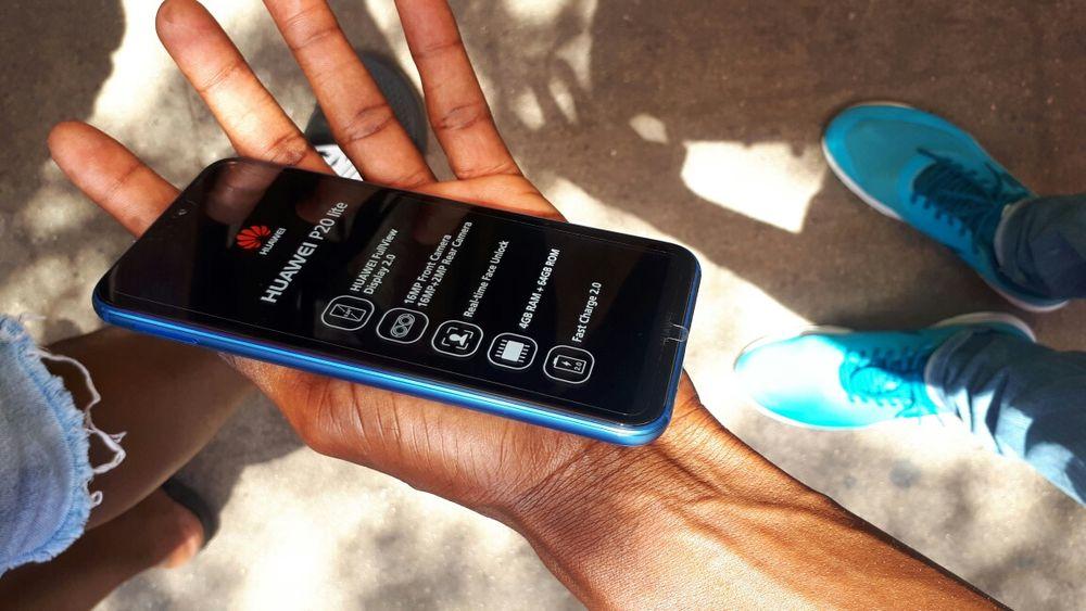Huawei p20 lite 64 GB super novo