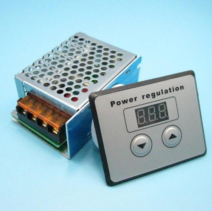 Variator tensiune regulator turatie motor curent alternativ 4000W disp