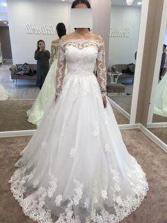 Свадебное платье размер 42-44 (XS-S) Италия
