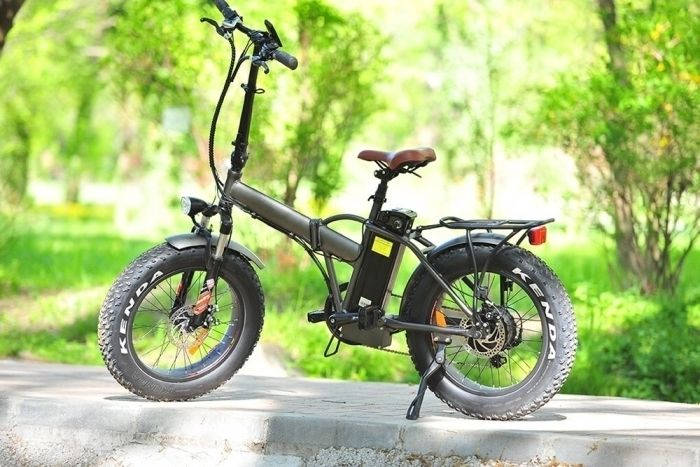 Bicicleta electrica pliabila E-twow Fat Bike Gentle