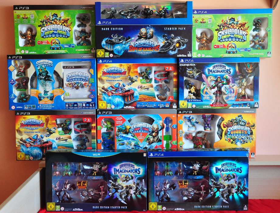 Нови ps4 Wii Skylanders Imaginators Supercharges Lego Dimensions лего