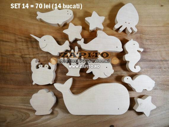 animale din lemn, jucarii din lemn