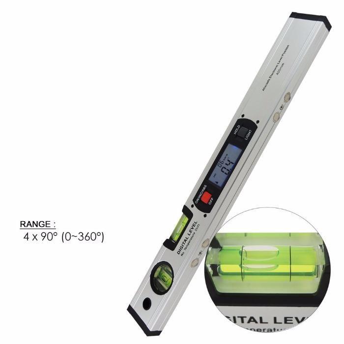 Nivela / boloboc GainExp, digital afisaj electronic 360 ° si magneti