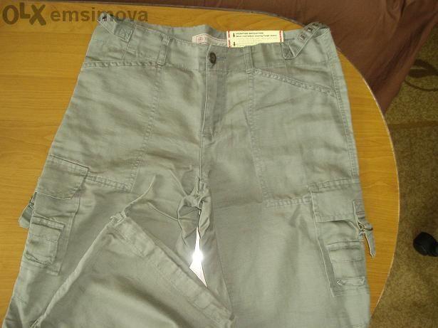 Нов с етикет памучен панталон спортен модел
