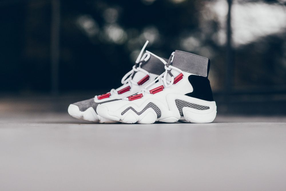 adidas Consortium Crazy 8 ADV - White/Black/Core Red