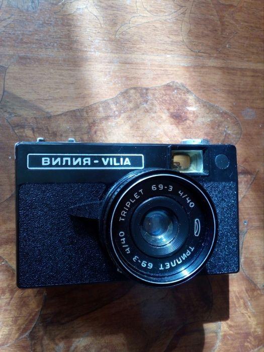 Фотоапарат със светкавица