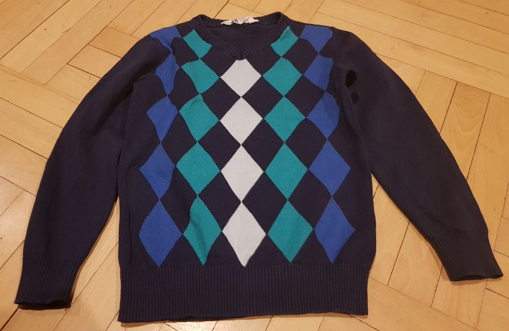 Детски тънък пуловер за момче на H&M размер 122/128