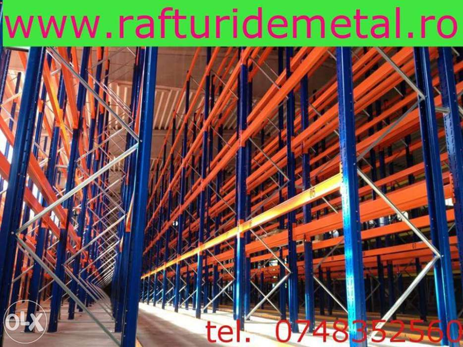 rafturi metalice industriale Bucuresti - imagine 6