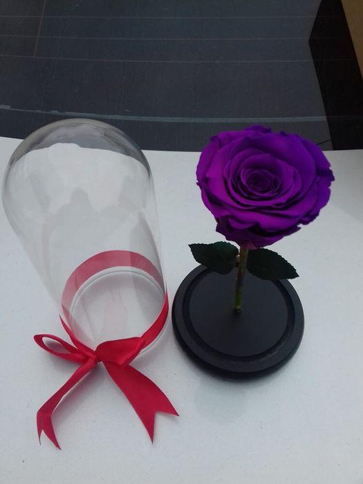 Cadou zile onomastice trandafir criogenat conservat Bucuresti - imagine 5