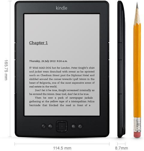 """Електронен четец ereader Kindle 5 /D01100/ 6"""" E-ink WiFi 2GB"""