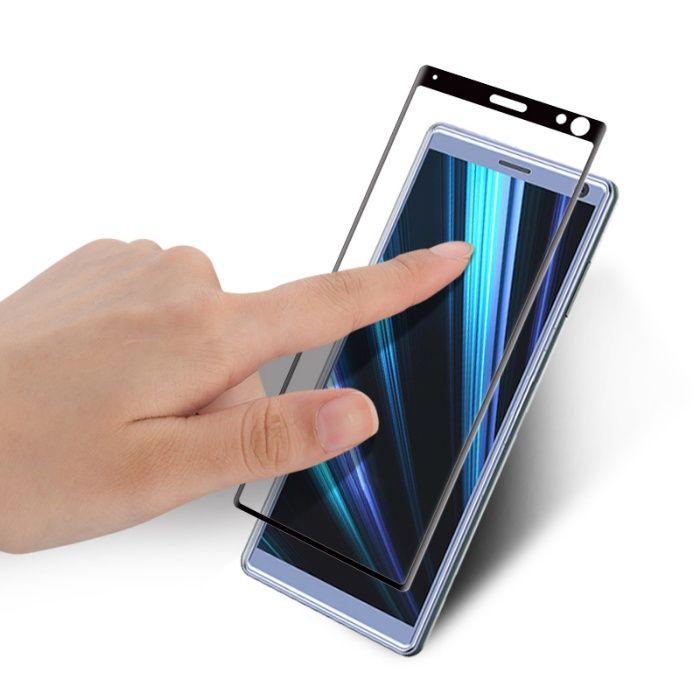 Закален извит удароустойчив 6D стъклен протектор за Sony Xperia 10 гр. Шумен - image 5