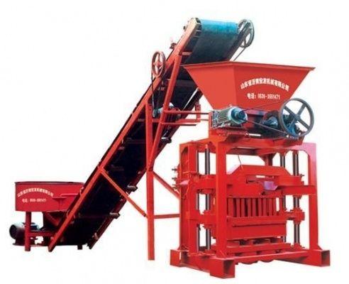 Оборудование для шлакоблоков, пескоблоков, сплитерных блоков