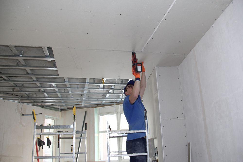 Оказываем услуги по установке гипсокартона и демонтажу стен