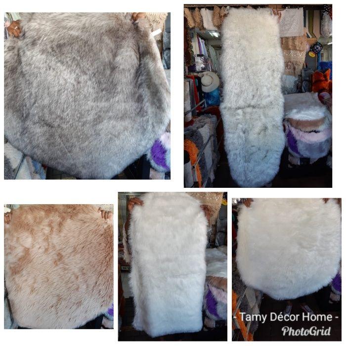 TAPETES felpudos faux fur densidade 80%