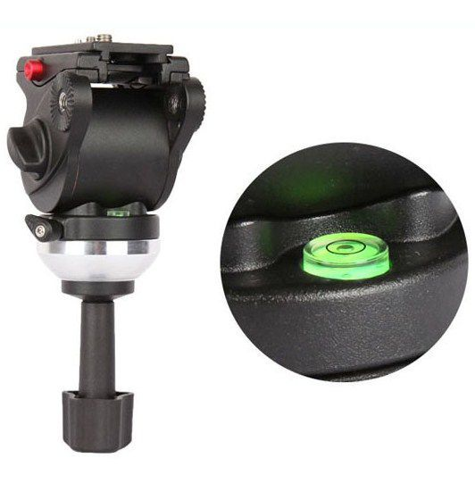 JY0506AH Fluid Tripod Head for 75MM bowl ( 6Kg ), cap video fluid !