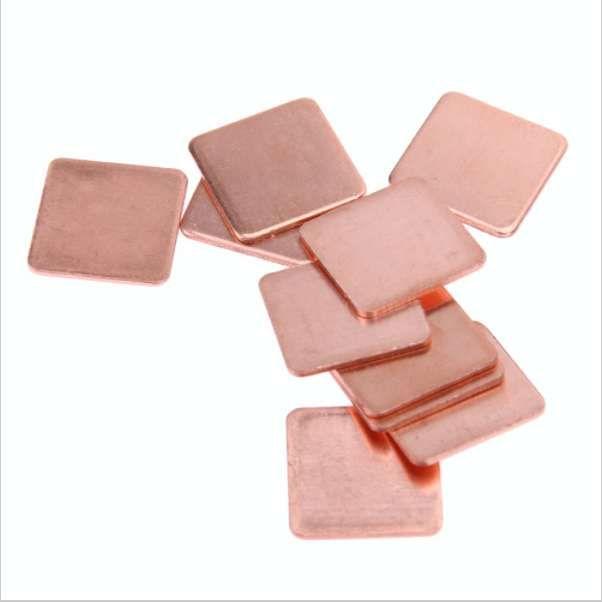 Vand pad-uri termice de cupru 0.3 0.5 1mm