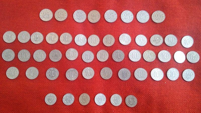 Чешки монети, 51 броя, емисии от 1962г. до 1969г., много запазени гр. Варна - image 7