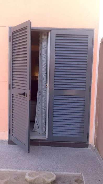 Fabrico e montagem de portas e janelas em sluminios