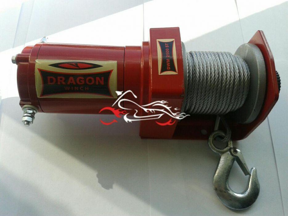 Troliu Atv Dragon Winch 2500 LBS Bucuresti - imagine 3